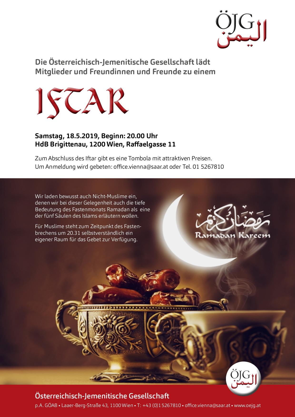 Einladung IFTAR